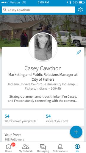 Casey Cawthon LinkedIn