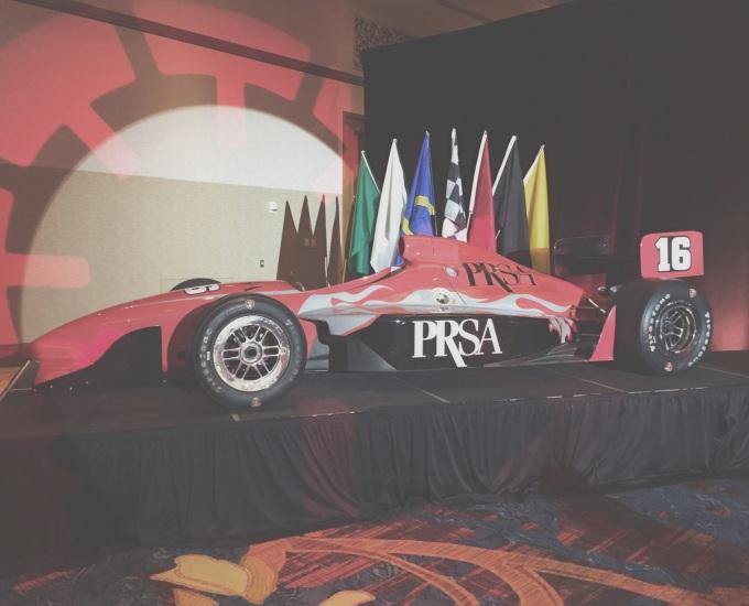 PRSA race car