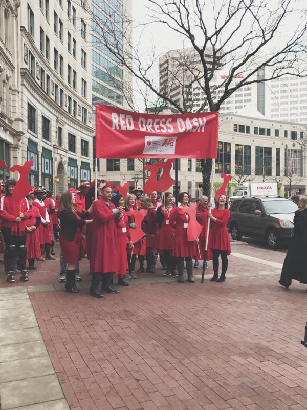 Red Dress Dash