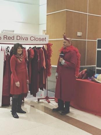 Sherman Red Dress Dash